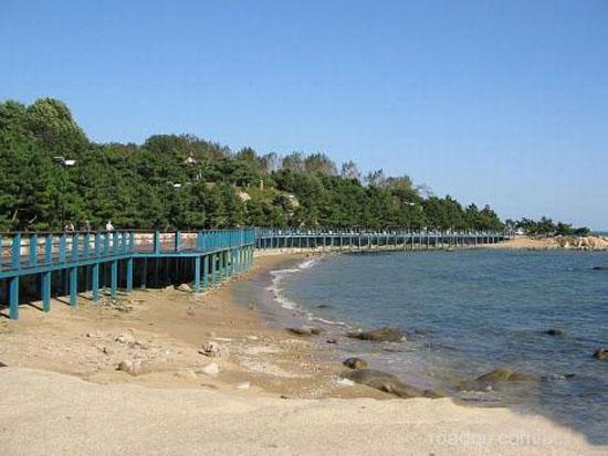 秦皇岛海滨风景